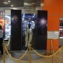 Стенд выставочный с манекеном космонавта
